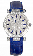 Watches Franck Muller Master Mystery Ronde 36 Blue Sapphire